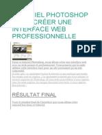Tutoriel Photoshop Pour Créer Une Interface Web Professionnelle