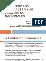 Los Recursos Naturales y las Economías Nacionales