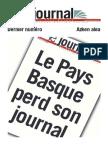 Le Journal Du Pays Basque