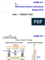 Lab 2 Tensile Test
