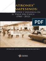 Patrones y Campesinos - Tierra, Poder y Violencia en El Valle Del Cauca