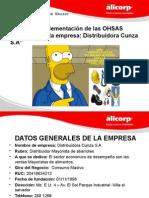 Seguridad Industrial Oshas 18001 - 2007