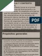 Escuela y Contexto Socia Para Pres. 2012