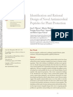 Identification and Rational Design of Novel Antimicrobial Peptides for Plant Protection