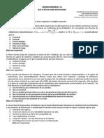 Guía de Estudio Incertidumbre 2014 2 Microeconomías II y III