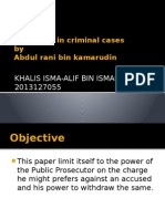 Mediation in Criminal Cases