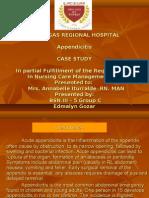 Acute Appendicitis & NPI_edmalyn Gozar