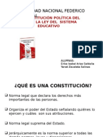Defensa Nacional La Connstitucion