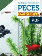 Catálogo de Producos KANTAL Para Peces