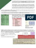 Statistics Formula Log