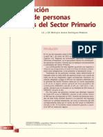 Declaración Anual de Personas Morales Del SECTOR PRIMARIO