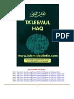 Taleem-Ul-Haq - Taleemul Haq