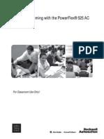 L01 - Drive Programming with the New PowerFlex® 525 AC Drives -  Lab Manual