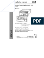 Installation Manual of Deif Controllor
