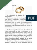 El Divorcio en Venezuela 2
