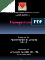 HEMOPERITONEUM_KM Lecaroz