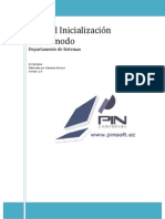 Manual Inicialización Zmodo