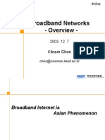 Broadband Networks Overview