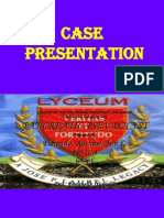 Pancreatic Pseudo Cyst Case_rachel Florendo