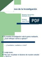 Alcances de la Investigacion CCHEP