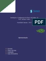 Instalação e configuração de banco de dados II - Avançado