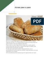 Pan de Aceitunas  y Pan de Cebolla