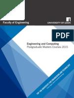 Engineering Postgraduate Brochure 2015
