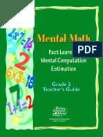 Mental Math Grade 2