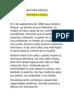 Antonin Artaud Historia III