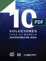 10 soluciones para el manejo sustentable del agua