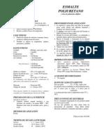 Esmalte - Poliuretano - CPP
