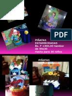 Presentación Venta de Piñatas1