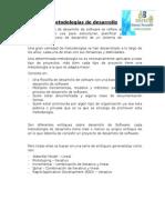 Unidad II Metodologias Del Desarrollo