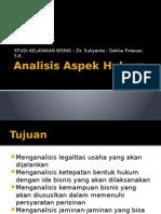 Analisis Aspek Hukum