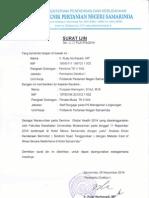 Surat Ijin Seminar Nasional Global Health No. 228 PL.21 PS 2014
