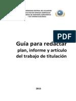 Guía Redacción Docs Científicos FCA UCE