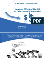 The Contagious Effect of the US Subprime Crisis on Gulf Countries