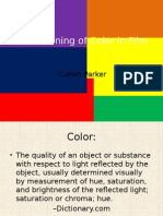 color presentation