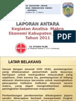 Bab 1 Presentasi Laporan Pendahuluan Antara Analisa Makro Ekonomi