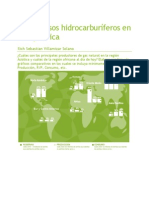 Los Recursos Hidrocarburíferos en Asia y África