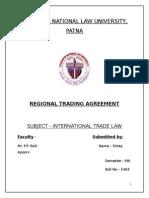 Regional Trading Arrangement