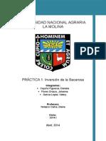 Informe 1 . Tecno de Azucares