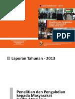 lppm-LaporanTahunanLPPM2013