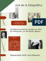 Historia de La Fotografia.