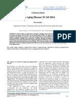 Stop Aging Disease! ICAD 2014