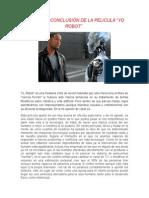 Opinión o Conclusión de La Pelicula Yo Robot