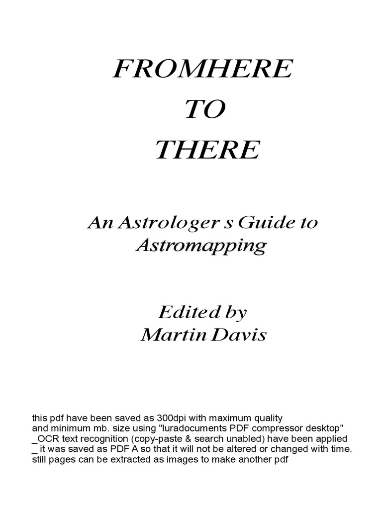 guide to astromapping pdf horoscope astrology