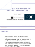 An Introduction to Python Programming