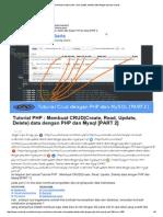 Membuat Crud(Create, Read, Update, Delete) Data Dengan Php Dan Mysql2