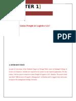 Logistics Project Report